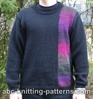 Knitting Patterns Galore Elegant Noro Yarn Sweater For Men