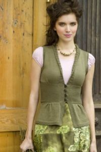 Antique Silk Vest