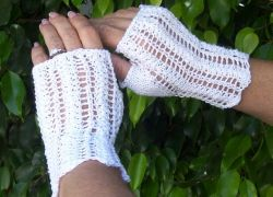 Always and Forever Fingerless Mitts