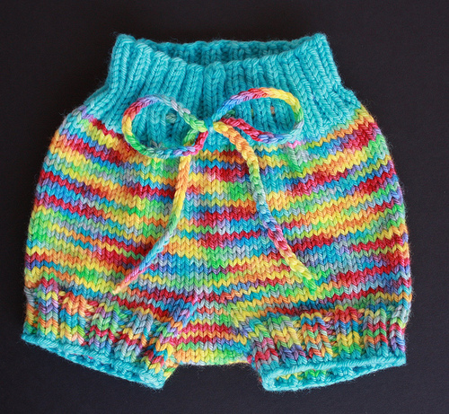 Free Knitting Patterns For Toddler Pants : Knitting Patterns Galore - Bubble Bum Baby Bloomers