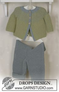 Jacket and Trousers in Alpaca