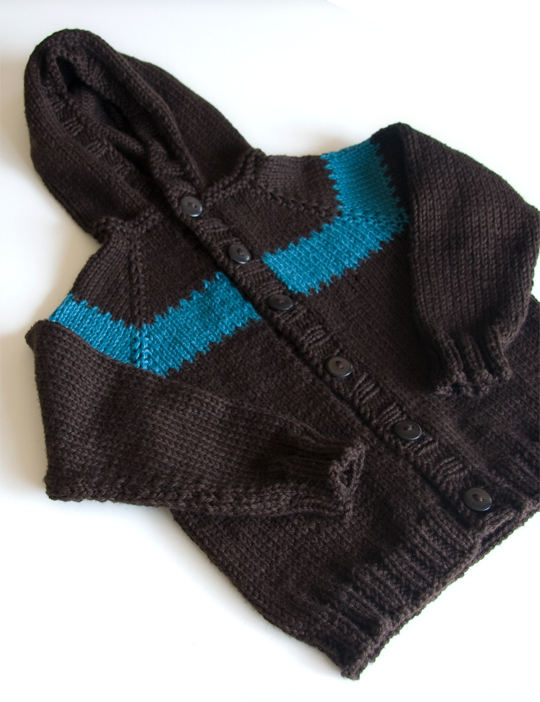 Knitting Patterns Galore - Toddler Raglan Hoodie