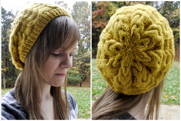 Knitting Patterns Galore Marigold Slouch