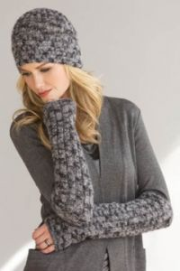 Bella Hat and Armwarmers in GIOIELLO