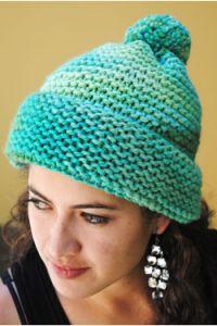 Knitting Patterns Galore - Gabriela: Garter Stitch Hat