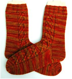 Calendula Cable Socks