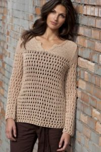 BOND Pullover in Natural Earth Cotton