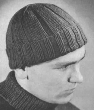 Balaclava Knitting Pattern Straight Needles : Knitting Patterns Galore - Beanie No. 212