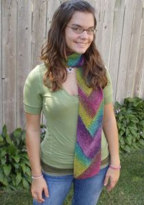 Pioneer Braid Scarf