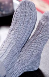 Ribbed Knit Socks