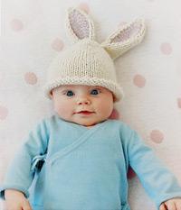 Bunny Beanie Free Knitting Pattern. Bunny Beanie 457aed6bd