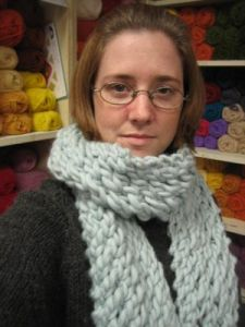 Super-Fast, Ultra-Cozy Scarf