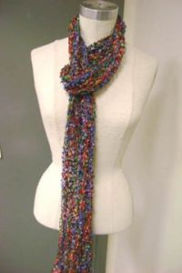 Cancun Summer Ribbed Scarf