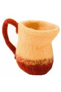 Felted Pitcher