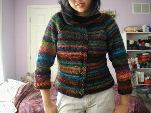 Knitting Patterns Galore - Easy Top-Down Raglan