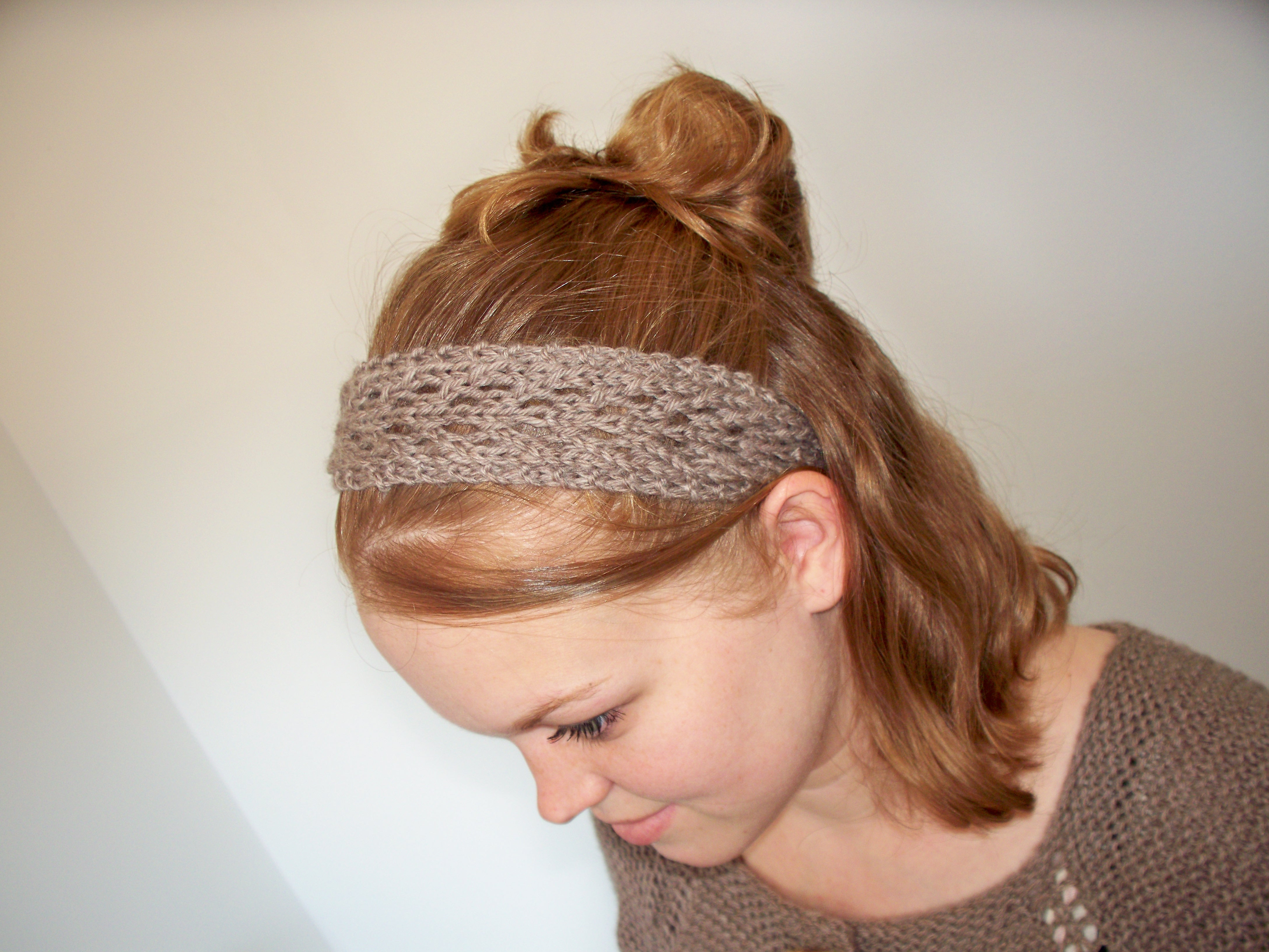 Knitting Patterns Galore - February Lady Lace Headband