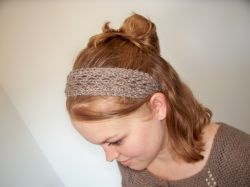 February Lady Lace Headband