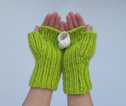 Fast and Fearless Fingerless Mitts