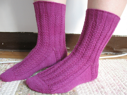 Knitting Patterns Galore Nine To Five Socks