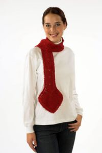 Go Red Heart Scarf