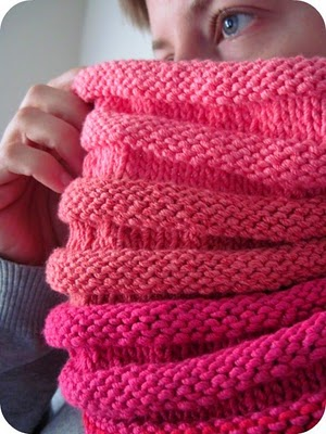 Free Knitting Patterns For Cowl Collars : Knitting Patterns Galore - Accordion Cowl