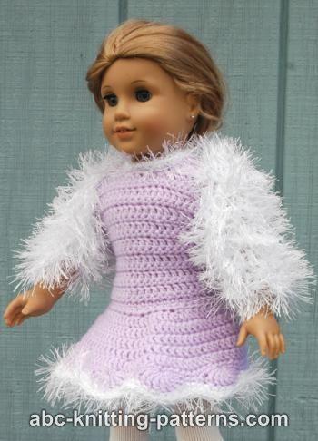 Knitting Patterns Galore American Girl Doll Fur Shrug
