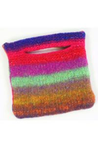 Small 1-Ball Felted Purse