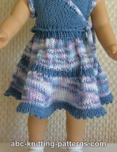 American Girl Doll Flared Two-Tier Skirt