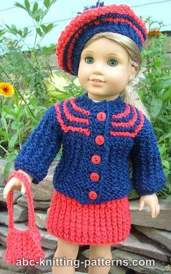 Girls Skirt /& cardigan Knitting Pattern
