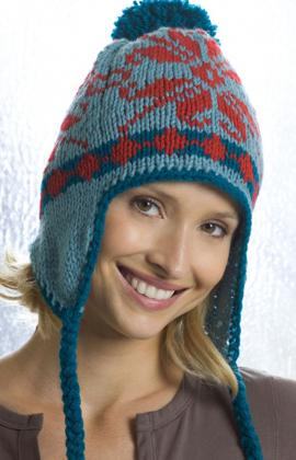 Knitting Patterns Galore Ear Flap Hat