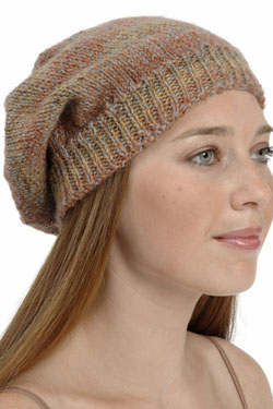 Knitting Patterns Galore Hats : Knitting Patterns Galore - Slouchy Hat