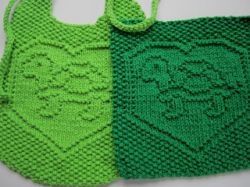 Turtle Love Bib