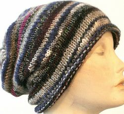 Easy Scrap-Buster Slouch Hat