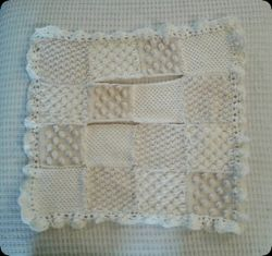 Bobble Carseat Baby Blanket