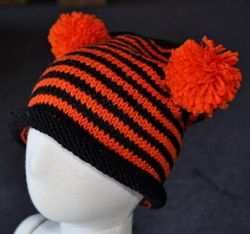 Child's Team Pom-Pom Hat