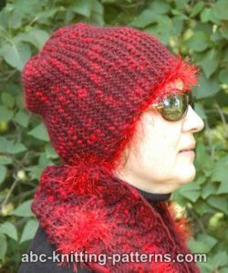 Easy Garter Stitch Hat