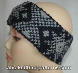 Fair Isle Headband