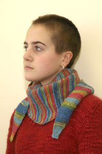 Side to Side Garter Stitch Scarf