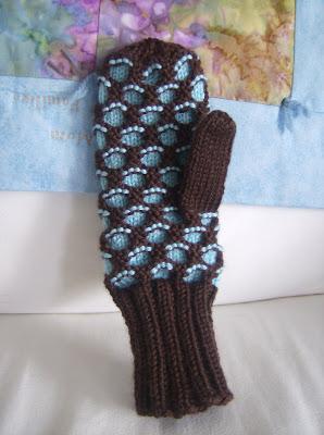 Knitting Patterns Galore Newfie Mittens