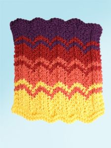 Sunset Strip Dishcloth