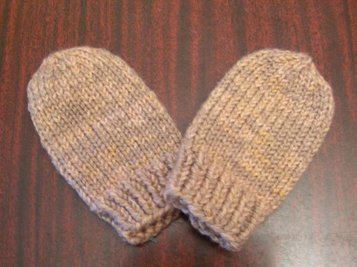 Easy Baby Mittens Knitting Pattern : Knitting Patterns Galore - Baby Mittens
