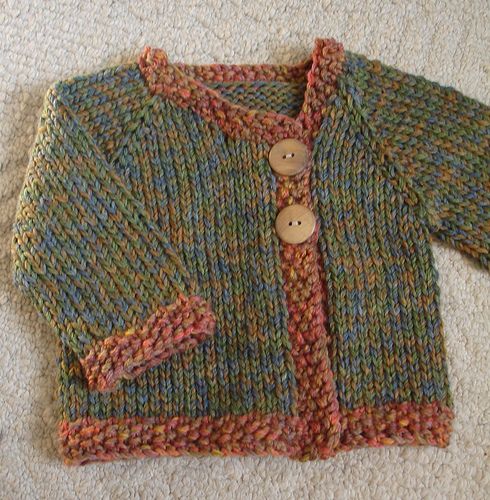 Free Knitting Pattern For A Jacket : Knitting Patterns Galore - Mossy Jacket