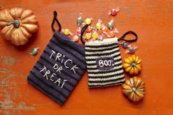 Scary Treat Bags