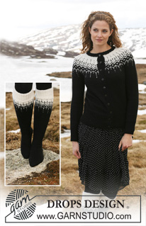 54896161f99ad Knitting Patterns Galore - 2-Colour Raglan Jacket