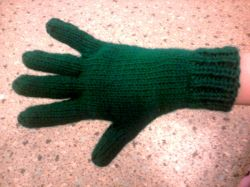 Bryanna's Two Needle Gloves