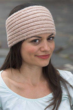 Knitting Patterns Galore - Ribbed Headband