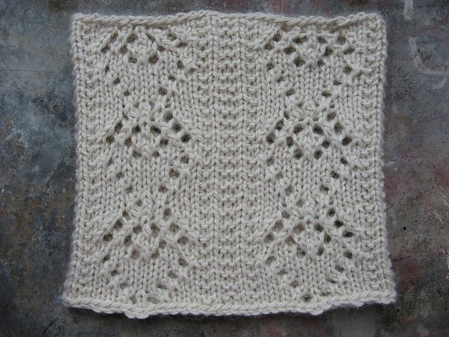 Diamond Lace Knitting Pattern : Knitting Patterns Galore - Diamond Lace Cowl