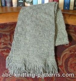 Check-and-Mate Scarf