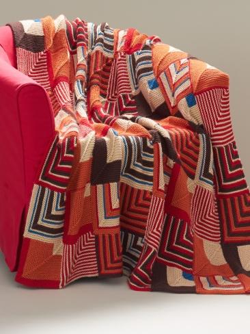 Knitting Patterns Galore Southwest Geometric Blanket