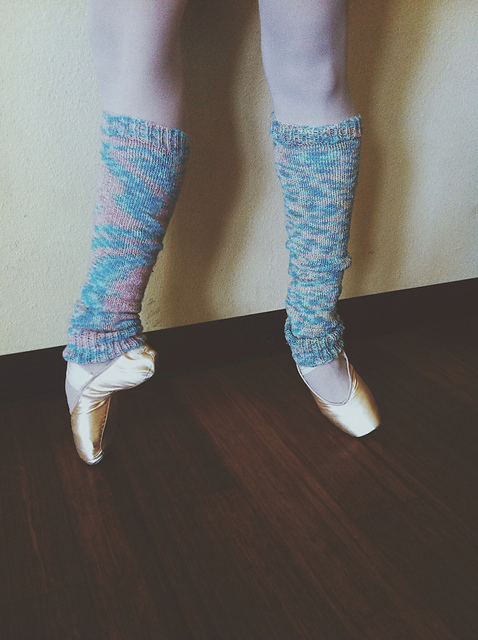 Knitting Patterns Galore Ballerina Leg Warmers